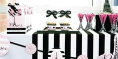 Paris, Ooh La La  Paris Themed Baby Shower Theme - Paris party supplies