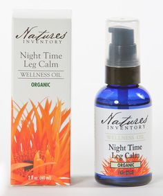Look at this #zulilyfind! Night Time Leg Calm Wellness Oil by Nature's Inventory #zulilyfinds