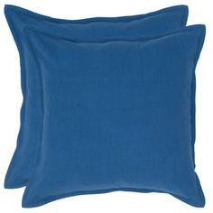 I pinned this Portsmouth Pillow in Cobalt from the Brights on Black event at Joss and Main!