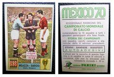 Figurine Calciatori Stikers Panini MEXICO 70 MEAZZA SAROSI 1938 Mint Unused