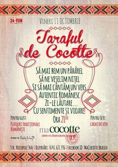 Taraful de Cocotte-Autentic romanesc