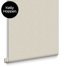 Weave Natural Wallpaper by Kelly Hoppen for Graham & Brown #KellyHoppen