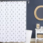 Found it at Wayfair - Anchors Cotton Shower Curtain