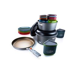 Camp Kitchen - GSI Outdoors Pinnacle Camper Cookware Set * Details can be found by clicking on the image.