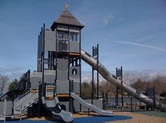 Magic Mountain Playground at Coyote point Park (($6 for parking, so bring the CurioOdessey Discover-Go Pass on the day) - San Mateo, CA.