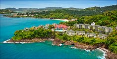 Sandals St. Lucia... We stayed on the bluff overlooking the far side in this photo.  Simply gorgeous views!  Would go back in a nanosecond