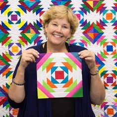 Learn to make a Pineapple Quilt with Jenny!