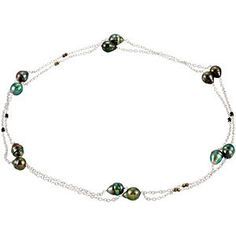 "#67883, Tahitian Cultured Pearl 48"" Necklace, Nathalie's Jeweler 936-242-3498"