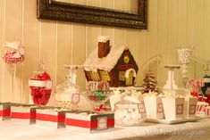 jul dessertbord kakebord christmas