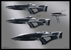 Star Trek Into Darkness Weapons. Phaser Rifle and pistol. I like these remakes.