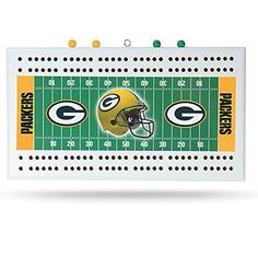 Green Bay Packers NFL Football Field Cribbage Board ** You can get additional details at the image link.Note:It is affiliate link to Amazon.