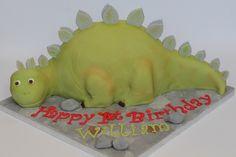 stegosaurus cake | Flickr - Photo Sharing! Dinosaur Birthday Party, Boy First Birthday, Birthday Cakes, Dino Cake, Cake Decorating, Decorating Ideas, Cake Ideas, First Birthdays, Food Ideas