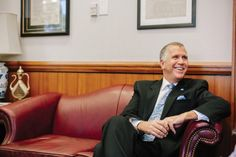 Thom Tillis is one of the most confident men in Raleigh