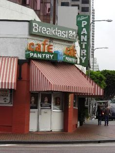 The Original Pantry - Los Angeles California. Best damn cup of coffee I had in a long time.