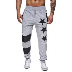 Cheap joggers pantalones, Buy Quality sweatpants joggers directly from China male trousers Suppliers: 2017 Autumn Mens Sportswear Pants Star Printed Male Trousers Men Pants Elastic Stripe Pants Sweatpants Joggers Pantalones Casual Pants, Men Casual, Baggy, Mens Sweatpants, Sport Pants, Jogger Pants, Men's Pants, Harem Pants, Fashion Pants