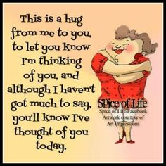 This is a hug from me to you love love quotes quotes quote hug love images love pic Hugs And Kisses Quotes, Hug Quotes, Funny Quotes, Life Quotes, Special Friend Quotes, Sister Quotes, Daughter Quotes, Meaningful Quotes, Inspirational Quotes