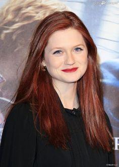 Bonnie Wright à Londres le 11 novembre 2010.