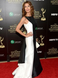 """2014 Daytime Emmy Awards - Kristian Alfonso, actress, former figure skater and fashion model attends the ceremony. She is best known for playing Hope Williams Brady, since 1983 on the long-running NBC soap opera """"Days of Our Lives."""""""