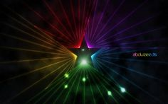 Easy Star Light in #Photoshop