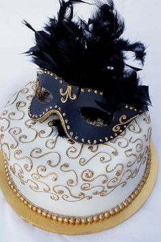 Mask Cake by Verusca's Cake, via Flickr
