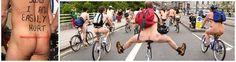 8th Brighton World Naked Bike Ride,  Sunday, 9 June, 2013