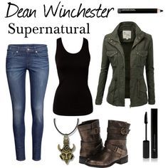 """Dean Winchester"" by cassastrophic on Polyvore"