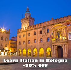 Studiainitalia offers 20% off on Italian Courses in Bologna throughout 2017, if you sign up before 31 December 2016. Sign up now!