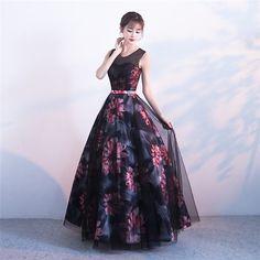 ドレス ロング 花柄 演奏会 ドレス パーティードレス 結婚式 ドレス ウェディングドレス パーティドレス お呼ばれ :0206wxy225:ホヤネ - 通販 - Yahoo!ショッピング Formal Dresses, Model, Fashion, Moda, Formal Gowns, La Mode, Black Tie Dresses