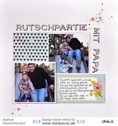 Layout mit dem #dpAprilkit16 von Ulrike für www.danipeuss.de #klartextstempel