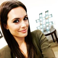 """When Torrey DeVitto looked flawless with her sleek 'do. 