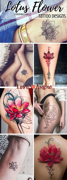 113e9bfab 10 Best red flower tattoos images in 2016 | Awesome tattoos, Coolest ...