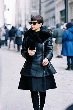 The acne coat of my dreams Victoria Beckham, Street Chic, Street Style, Vanessa Jackman, Fashion Corner, Nyc, Royal Fashion, Chic Outfits, African Fashion