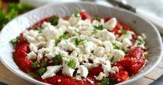 Sült paprika fetával recept képpel. Hozzávalók és az elkészítés részletes leírása. A Sült paprika fetával elkészítési ideje: 40 perc Feta, Grains, Dairy, Rice, Cheese, Red Peppers, Seeds, Laughter, Jim Rice