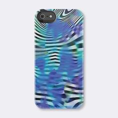 Swirl Blue iPhone case- Ana Romero Collection