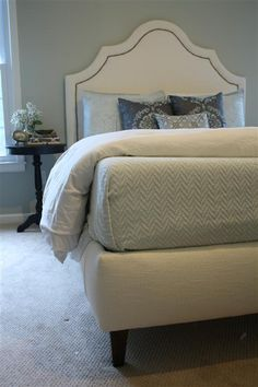 Upholstered bed from