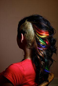 sheilas unicorn hair by sammythebone, via Flickr