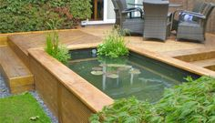 Wonderful Backyard Fish Pond Design Ideas to Garden Landscaping Your Home Backyard Water Feature, Ponds Backyard, Garden Ponds, Backyard Ideas, Pond Landscaping, Landscaping With Rocks, Pond Design, Garden Design, Fish Pond Gardens