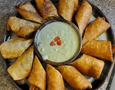 """Southwest Eggrolls (Check out the other """"mexican recipes"""" on the link too- then click around on the others too! YUMMY!)"""