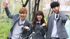 Foolish Asian Drama Life : Who Are You: School 2015 High Society Kdrama, Who Are You School 2015, Girl Drama, Korean Tv Series, Kim Sohyun, Drama School, Drama Fever, School 2017, Joo Hyuk