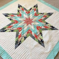 lonestar quilt.  It's a free pattern on @modabakeshop