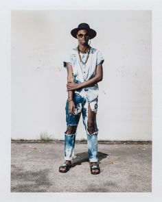 Duvaughn Robinson - 24, Queens, New York - The Best Street Style at Afropunk