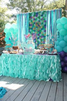 Mermaids, Ariel, pirates Birthday Party Ideas | Photo 1 of 38