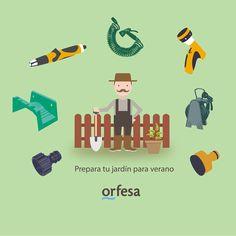 Prepara tu Jardín para verano #orfesa