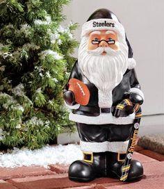 Steelers Santa