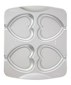 Take a look at this Heart Cookie Pop Pan - Set of Two by Wilton on #zulily today!