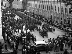 FOTOS | El funeral del General Isaías Medina Angarita en imágenes | La Venezuela Inmortal