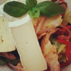 Kyllinge salat. Madbloggerudfordringen #2