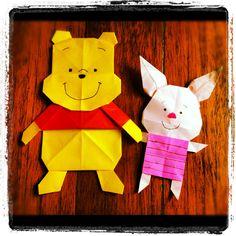 Winnie the Pooh: Pooh & Piglet Origami