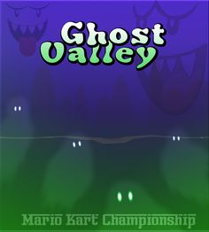 Mario Kart: SNES Ghost Valley 2 Poster