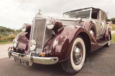 Packard Super 8 Wedding Car Lulworth Castle Wedding. Photography by one thousand words wedding photographers